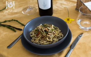 gnocchi-asparagi-selvatici- carciofi-funghi