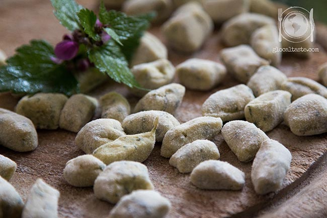 gnocchi di patate e ortica