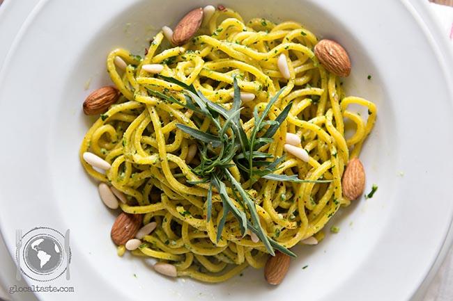 pesto-rughetta-rucola-spaghetti