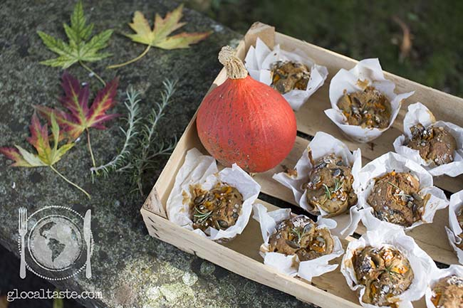 muffin-zucca-gorgonzola-salsiccia-rosmarino